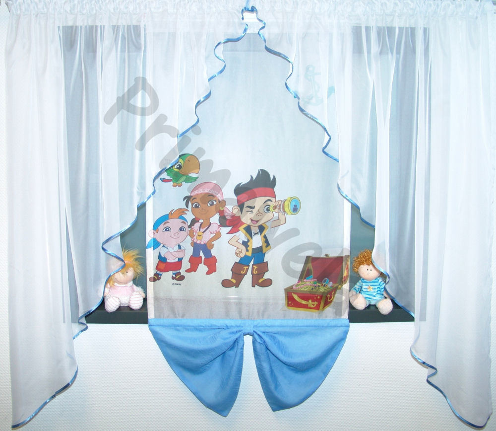 Disney, Winnie Pooh, Gardine, Kindergardine, Kinderzimmer Gardine ...