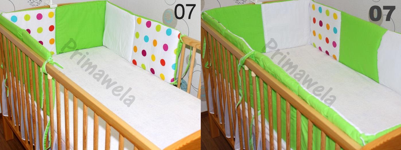 210cm oder 420cm rundum nestchen f r baby bett 70x140 ebay. Black Bedroom Furniture Sets. Home Design Ideas