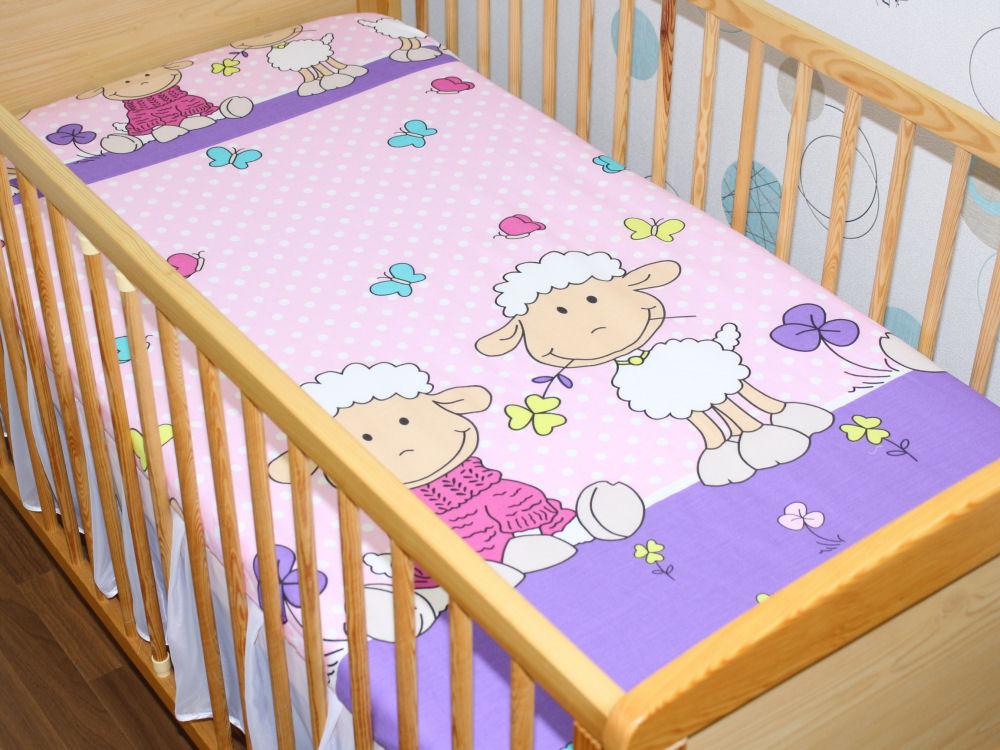 spannbettlaken 70x140 cm bettlaken f r baby kinder bett 100 baumwolle ebay. Black Bedroom Furniture Sets. Home Design Ideas