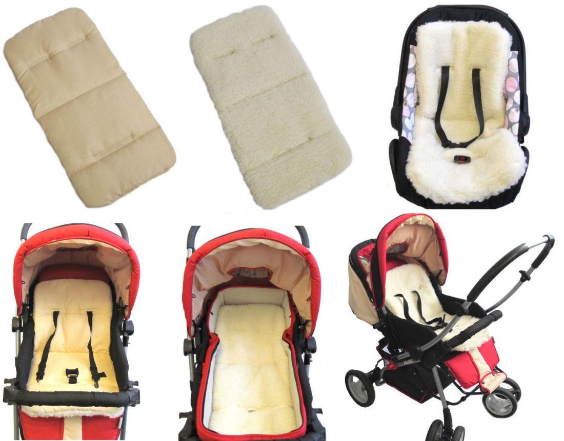 einlage lammwolle f r babyschale kinderwagen 36 cm x 72 cm auflage ebay. Black Bedroom Furniture Sets. Home Design Ideas